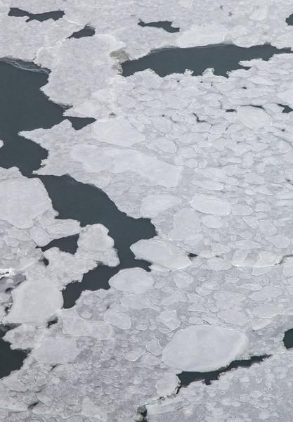 Sea ice in the Beaufort Sea