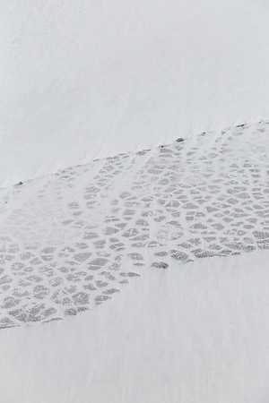 Frost wedge polygons along the Alaskan coast