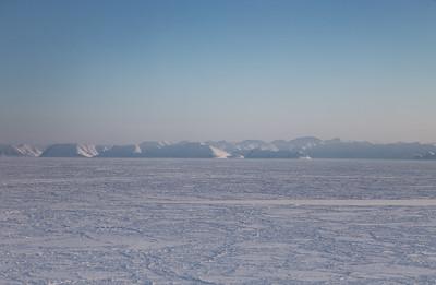 Coastal Greenland just east of Nares Strait