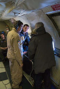 Jim and Nathan speak with visiting scientist Claire Parkinson about the ATM systems and airborne data collection