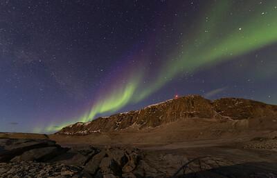 The Aurora over Black Ridge