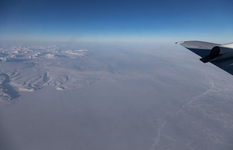 Northern Ellesmere Island and where the fast ice meets the ice pack