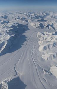 Upper d'Ilberville Glacier