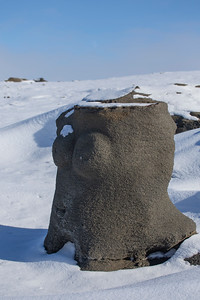 The fertility statue on the western edge of Dundas