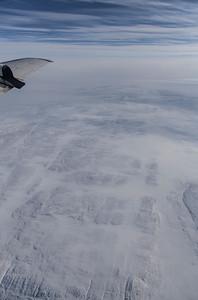 Glacial striations across Inglefield Land