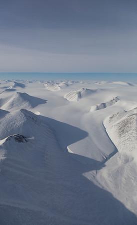 A small glacier east of Agassiz Icecap