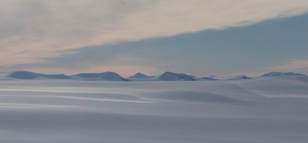 Looking north across the northern edge of the Agassiz Icecap