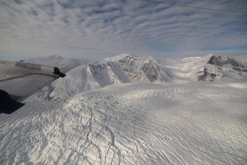 Crevasses on Canon Glacier