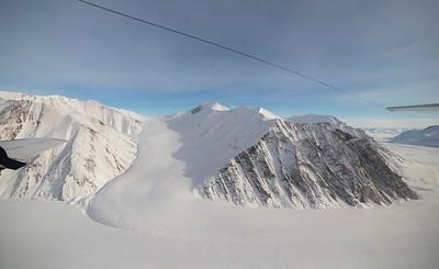A small sidelobe of upper John Richardson Glacier