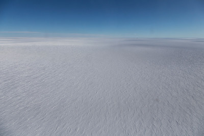 The view across much of the center of Greenland today