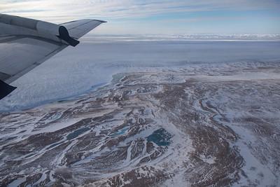 The terminus of Humboldt Glacier on Washington Land