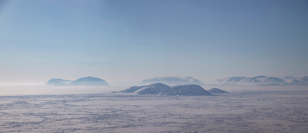 The view of NW Greenland a bit after we exit Nares Strait