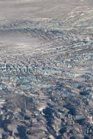 Crevasses on 79N glacier