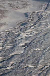 Ice and sediment layers