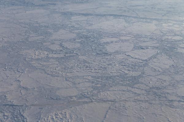 A multi-year sea ice floe