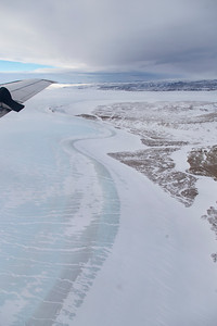 The edge of the Greenland ice sheet in Nyboe Land