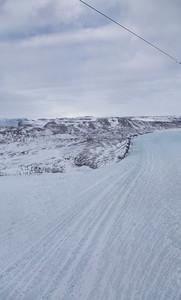 The western shear margin along Steensby Glacier