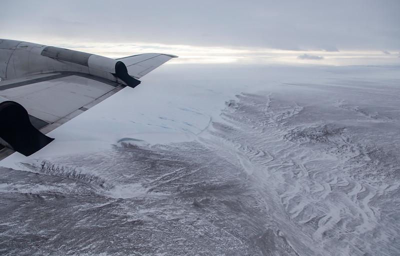 The edge of the Hiawatha Glacier in Inglefield Land