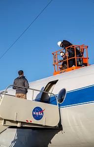 Coordinating GPS antenna measurement
