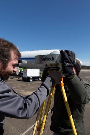 Craig and John assemble the ground GPS antenna