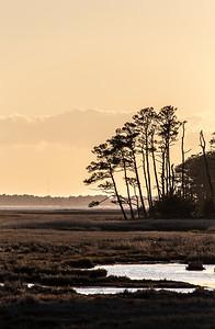 Sunset over Assateague Island