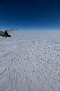 A snow-covered northern Baffin Island