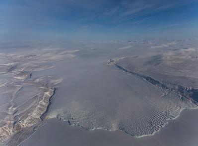 Pituffik glacier, just south of Thule Air Base