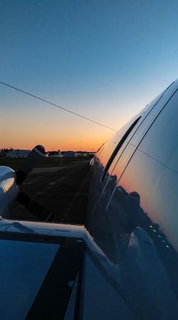 Sunrise along the P-3