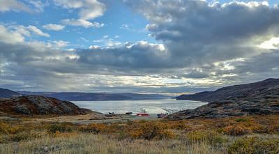 Headed down towards Kangerlussuaq Harbor