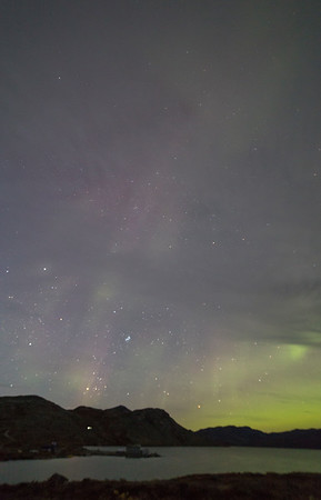 The Aurora over Lake Ferguson