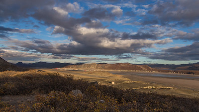 Looking down on Kangerlussuaq from the NW