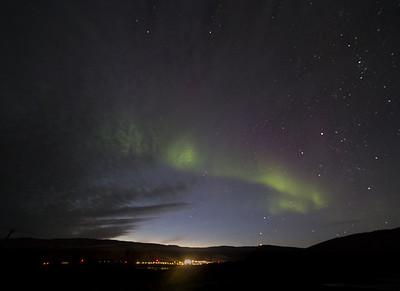 The Aurora over Kangerlussuaq