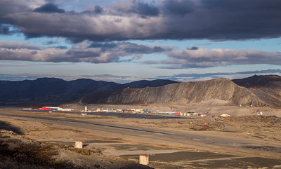 A close-up of Kangerlussuaq