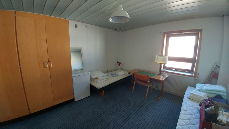 The rooms in KISS are simple, but clean and decent.