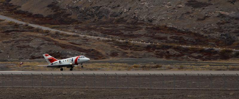 The Falcon landing