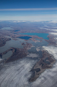 Unnamed glaciers in SW Greenland