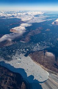 Calving front of Sermeq Silardleq (Itivdliarsuk Glacier)