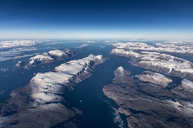 Looking out towards Uummannaq Fjord