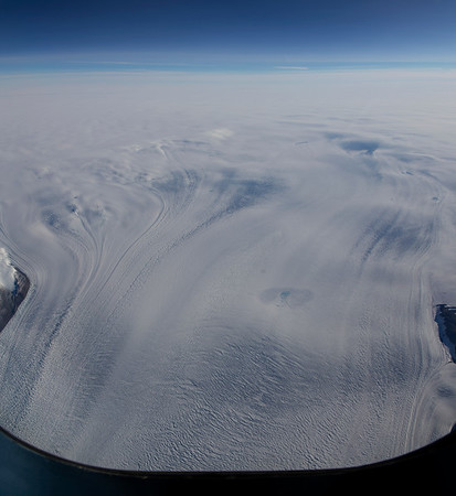 Upstream portion of Rink Glacier