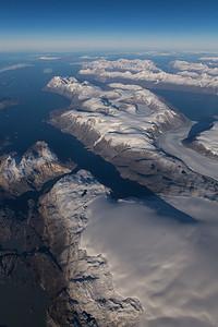 Unamed Icecap near Kangerdluarssup Glacier