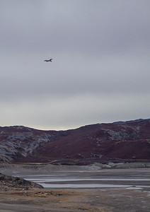 The NASA Falcon over the Watson River