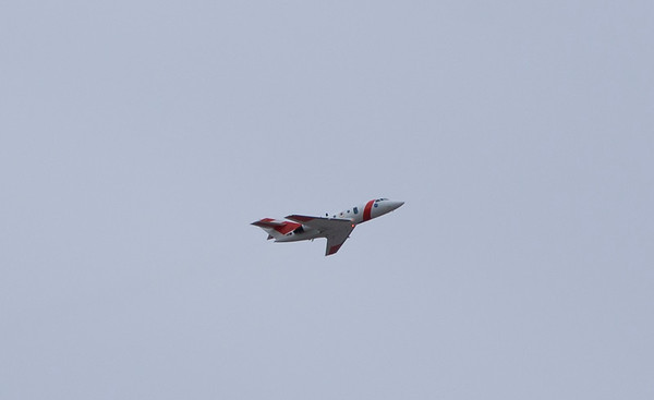 The NASA Falcon passes me just after take-off