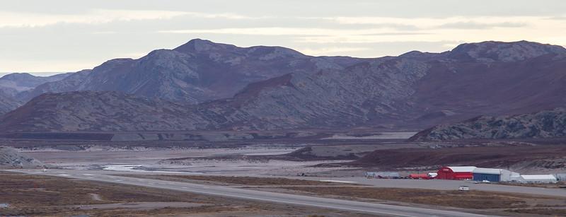 The NASA Falcon awaiting takeoff clearance