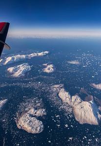 Western Greenland, Kiatassuaq Island in the distance