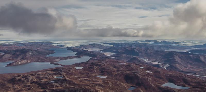 Looking west towards Russell Glacier from near Kangerlussuaq