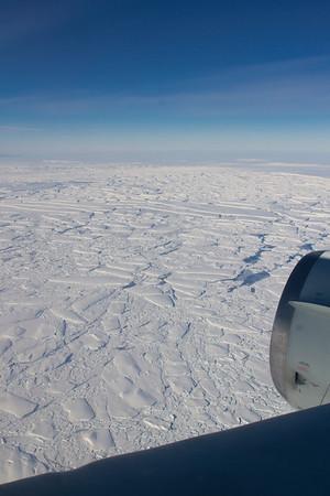 View of the broken Thwaites Ice Tongue
