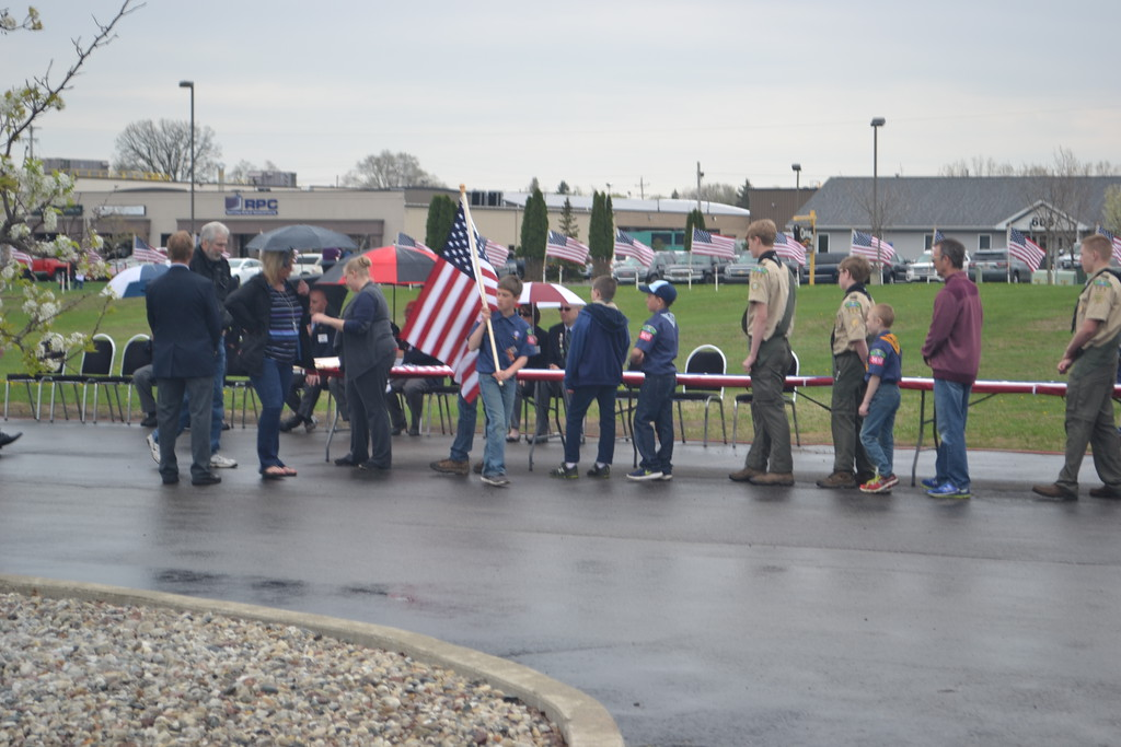 . Darian McCormick - Morning Sun  The 2018 Alma Elks Field of Honor ceremony