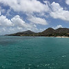 Two hours later, arriving at the docks in Carriacou. (Photo/Jacob Sklar, UNAVCO)