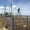 Radio upgrade at PBO GPS station P546, Flattop Peak on March 24, 2015. (Photo/Ryan Turner)
