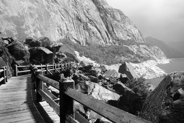 Wapama Falls Bridge